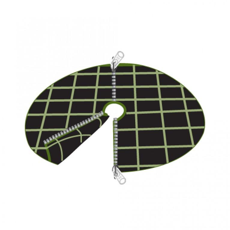 70cm Διαμετρος - ΥΦΑΣΜΑ ΕΔΑΦΟΚΑΛΥΨΗΣ ΣΤΡΟΓΓΥΛΟ με ΦΕΡΜΟΥΑΡ