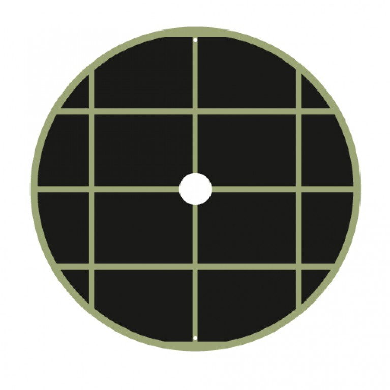 70cm Διαμετρος - ΥΦΑΣΜΑ ΕΔΑΦΟΚΑΛΥΨΗΣ ΣΤΡΟΓΓΥΛΟ χωρις ΦΕΡΜΟΥΑΡ