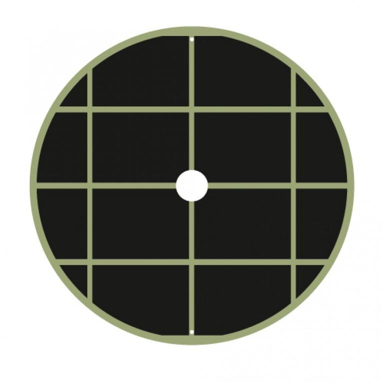 116cm Διαμετρος - ΥΦΑΣΜΑ ΕΔΑΦΟΚΑΛΥΨΗΣ ΣΤΡΟΓΓΥΛΟ χωρις ΦΕΡΜΟΥΑΡ